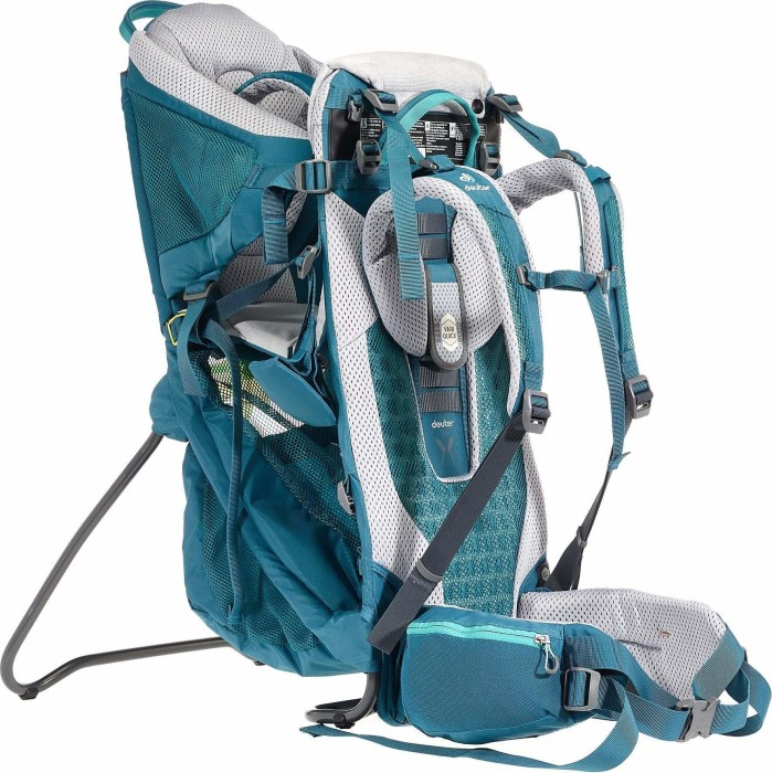tolle Passform 60% günstig UK Verfügbarkeit Deuter Kid Comfort Active SL baby carrier midnight (3620119-3007) from £  193.02