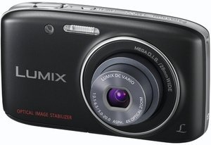 Panasonic Lumix DMC-S2 schwarz