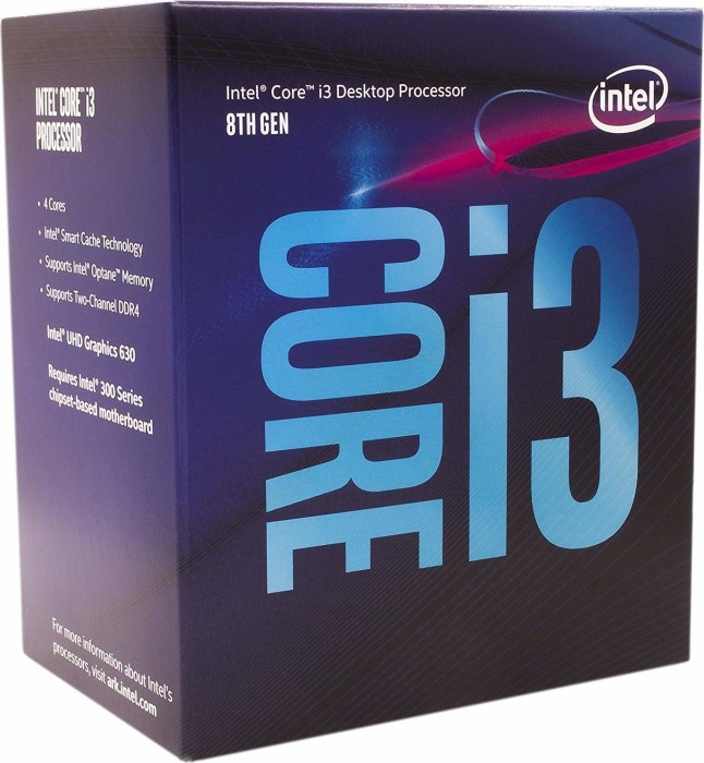 Intel Core i3-8300, 4x 3.70GHz, boxed (BX80684I38300)