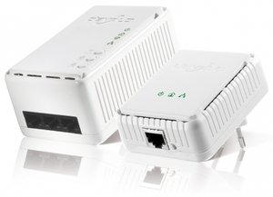 devolo dLAN 200 AV wireless N starter kit, 200Mbps, 3x LAN/WLAN 300Mbps (01407/01612)