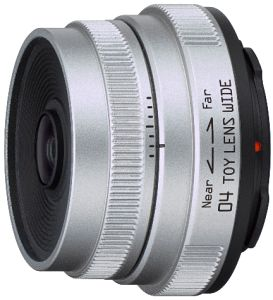 Pentax lens Q 04 Toy lens wide 6.3mm 7.1 (22097)