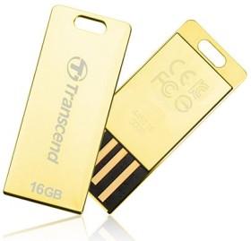 Transcend JetFlash T3 gold 16GB, USB-A 2.0 (TS16GJFT3G)