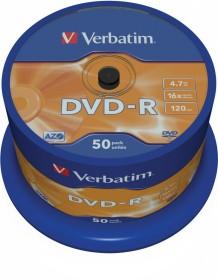 Verbatim DVD-R 4.7GB 16x, 50-pack Spindle (43548)