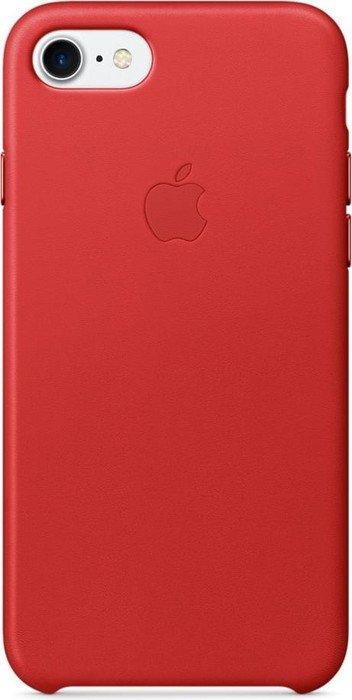 apple leder case f r iphone 7 rot mmy62zm a ab 27 95. Black Bedroom Furniture Sets. Home Design Ideas