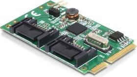 DeLOCK 2x SATA 6Gb/s, PCIe Mini Card (95233)