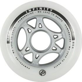 Powerslide Infinity II inline skate wheels 90mm white, 4 pieces (905222)