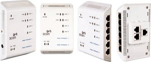 3Com IntelliJack NJ2000, 4-Port, smart managed (3CNJ105)