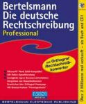 Bertelsmann: Die German spelling rules (Professional) (German) (PC)