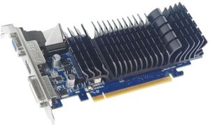 ASUS GeForce 210 (GT218-200-B1), EN210 SILENT/DI/512MD3/V2(LP), 512MB DDR3, VGA, DVI, HDMI (90-C1CPUP-J0UANAYZ)
