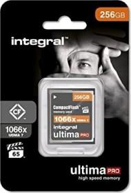 Integral ultima PRO UDMA7 R160/W135 CompactFlash Card [CF] 1066x 256GB (INCF256G1066X)