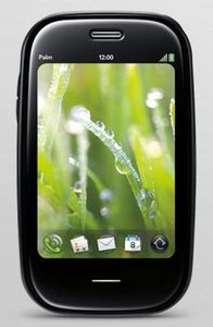 Palm Pre Plus with branding