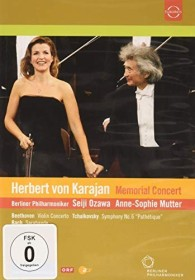 Anne-Sophie Mutter - Karajan Memorial Concert