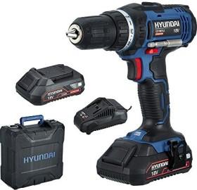 Hyundai CD1801LI Set2A cordless screw driller incl. case + 2 Batteries 2.0Ah