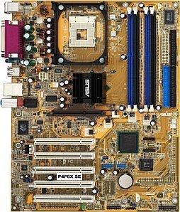 ASUS P4P8X, i865P (dual PC-2700 DDR)