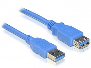 DeLOCK USB 3.0 extension cable A/A m/w 1m (82538)