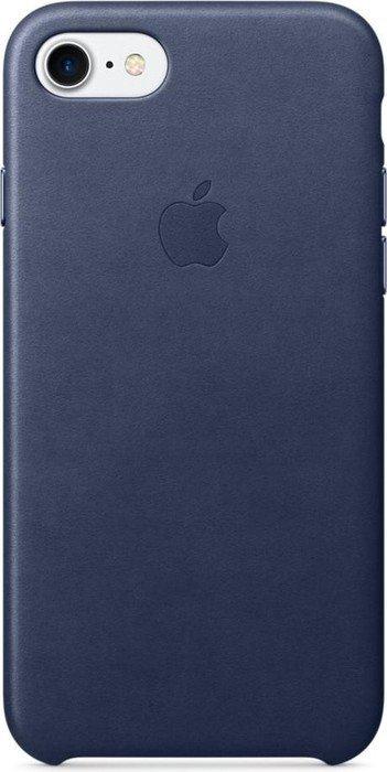 apple leder case f r iphone 7 mitternachtsblau mmy32zm a. Black Bedroom Furniture Sets. Home Design Ideas