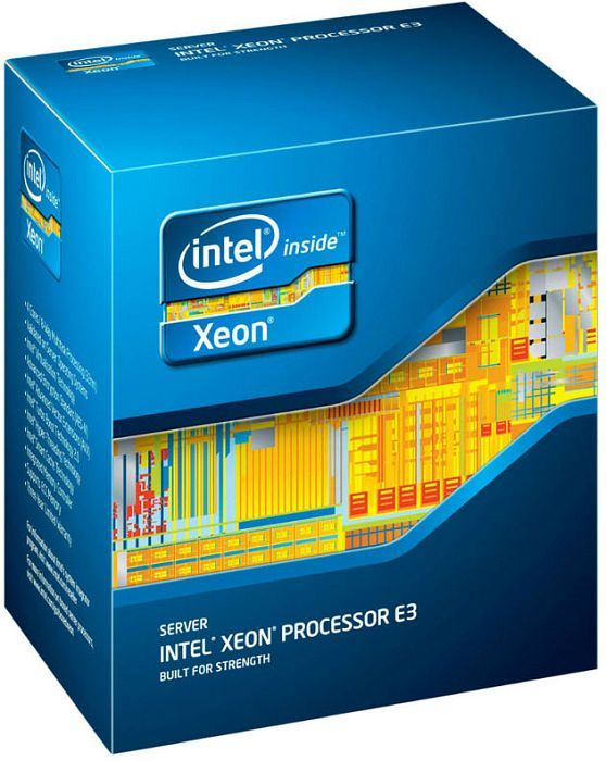 Intel Xeon E3-1270, 4x 3.40GHz, Sockel-1155, boxed (BX80623E31270)