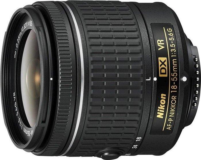 Nikon AF-P DX 18-55mm 3.5-5.6G VR black (JAA826DA)