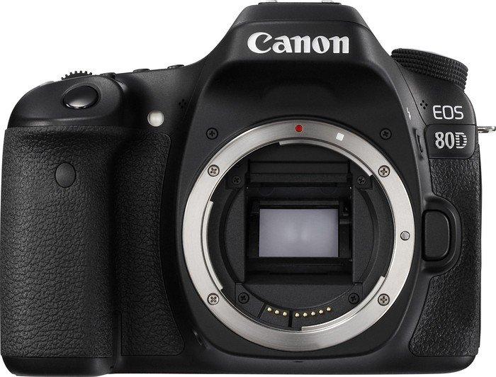 Canon EOS 80D schwarz Gehäuse (1263C027)