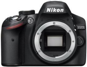 Nikon D3200 schwarz Body (VBA330AE)