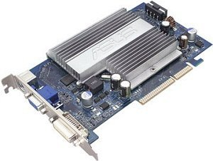 ASUS N7600GS SILENT/HTD/256M, GeForce 7600 GS, 256MB DDR2, VGA, DVI, TV-out, AGP (90-C1CI35-HUAY00Z)