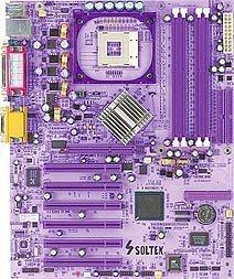 Soltek SL-86SP, i865P (dual PC-2700 DDR)