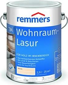 Remmers Wohnraum-Lasur innen Holzschutzmittel weiß, 2.5l (2401-03)