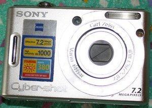 Sony Cyber-shot DSC-W35 silver -- © bepixelung.org