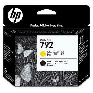HP Druckkopf 792 gelb/schwarz (CN702A)