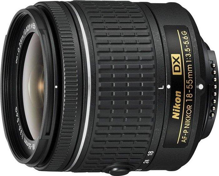 Nikon AF-P DX 18-55mm 3.5-5.6G black (JAA827DA)