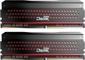 TeamGroup Dark Pro rot DIMM Kit 16GB, DDR4-3200, CL14-14-14-31 (TDPRD416G3200HC14ADC01)