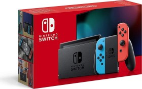 Nintendo Switch schwarz/blau/rot (2019)