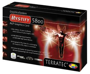 TerraTec Mystify 5800, GeForceFX 5800, 128MB DDR2, ViVo, AGP (7060)