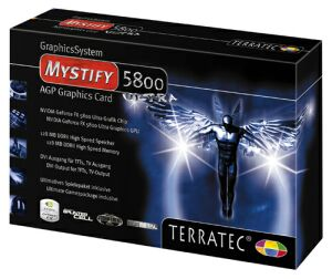 TerraTec Mystify 5800 Ultra, GeForceFX 5800 Ultra, 128MB DDR2, ViVo, AGP (7070)