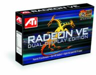 ATI Radeon VE Dual display Edition, 32MB DDR, TV-out, DVI, AGP, retail