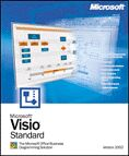 Microsoft Visio 2002 Standard Edition (German) (PC) (D86-00805)