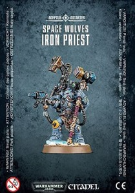 Games Workshop Warhammer 40.000 - Space Wolves - Iron Priest (99070101018)