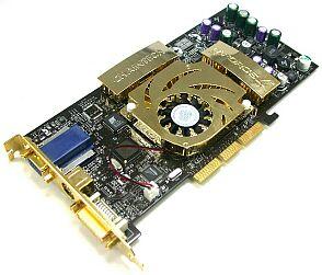 Chaintech / VideoExcel A-GT61, GeForce4 Ti4600, 128MB DDR, DVI, VIVO, Spielebundle, AGP
