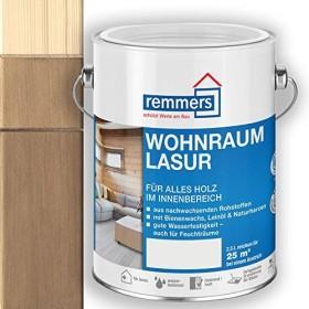 Remmers Wohnraum-Lasur innen Holzschutzmittel toskanagrau, 2.5l (2308-03)