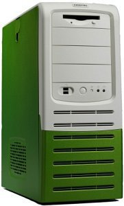 Chieftec Apollo AL-01GN/AL-03GN Midi-Tower, green (without power supply)