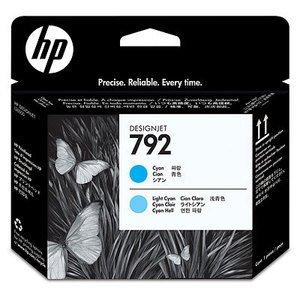 HP 792 Druckkopf cyan/cyan hell (CN703A)