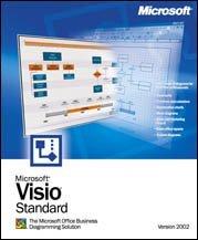 Microsoft: Visio 2002 Standard Edition, EDU (English) (PC) (D86-00843)