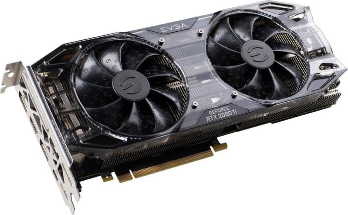 EVGA GeForce RTX 2080 Ti Black Edition Gaming, 11GB GDDR6, HDMI, 3x DP, USB-C (11G-P4-2281-KR)