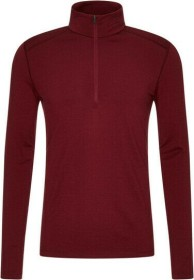 Icebreaker Merino 200 Oasis Half Zip Shirt langarm cabernet (Herren) (104367-616)
