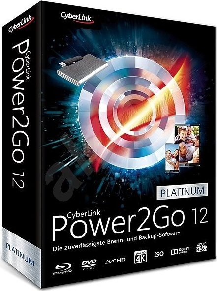 CyberLink Power2Go 12 Platinum (deutsch) (PC)