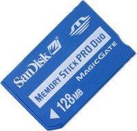 SanDisk Memory Stick (MS) Pro Duo 128MB (SDMSPD-128-E10) -- © SanDisk