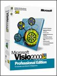 Microsoft: Visio 2000 Professional Edition (englisch) (PC) (D87-00002)