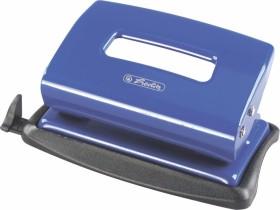 Herlitz Bürolocher 1.2mm mit Anschlagschiene, blau (8757353)