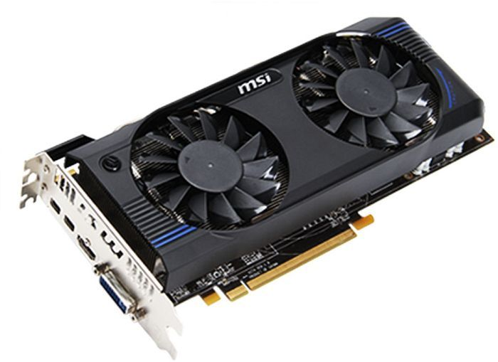 MSI R7870-2GD5T/OC, Radeon HD 7870 GHz Edition, 2GB GDDR5, DVI, HDMI, 2x mini DisplayPort (V274-015R)