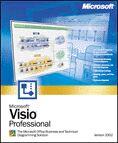 Microsoft: Visio 2002 Professional Edition (English) (PC) (D87-00693)